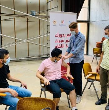 2,341,129 جرعة تطعيم تم إعطاؤها للمواطنين في فلسطين